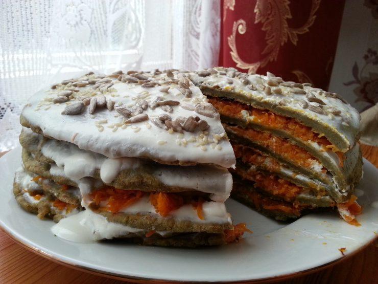Чечевичный пирог
